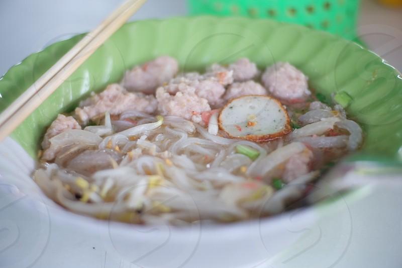 thai noodle 🍜 photo