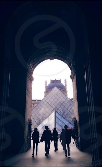 Louvre Museum Paris France  photo