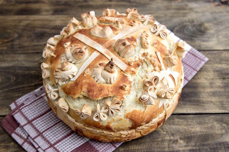Festive bread photo
