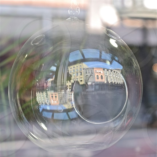 Small town in the Glass. Gastown Vancouver photo