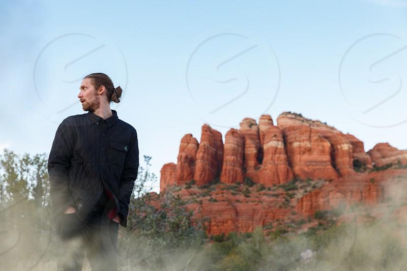 Portrait mood dreamy Arizona Sedona explore hike adventure photo