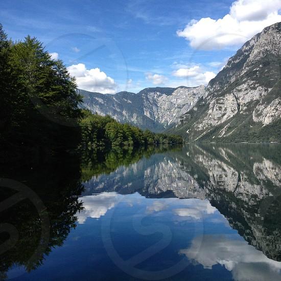 Alpine reflections photo