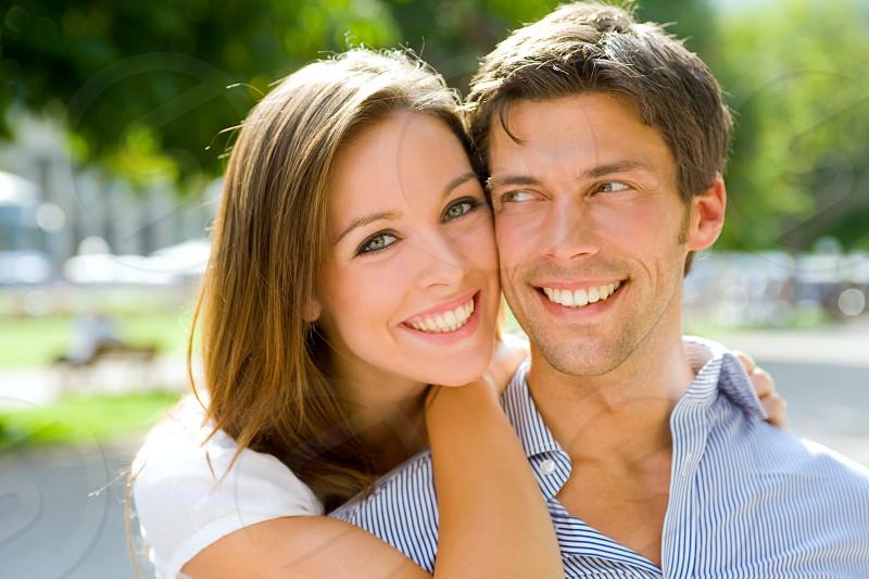 Portrait of beautiful Couple photo