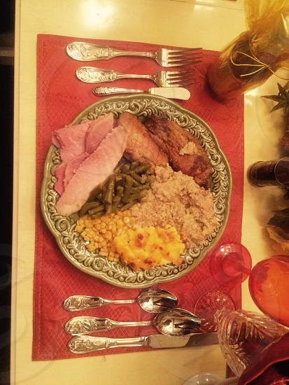 Thanksgiving dinner...  photo