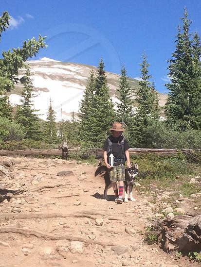 Mt. Quandary. Hike family dog travel hertz photo