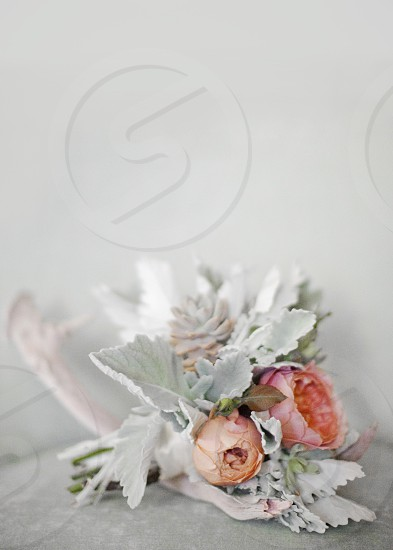 flowers antlers wedding bouquet  photo