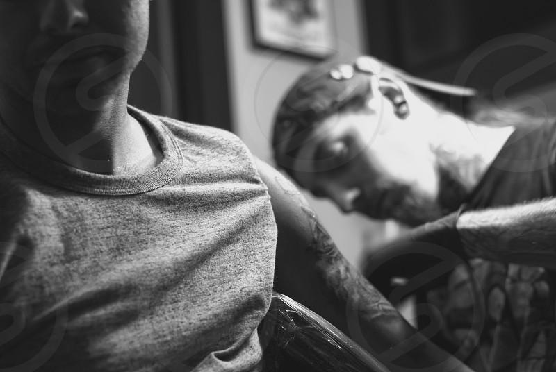 Tattoo Ink Portrait  photo
