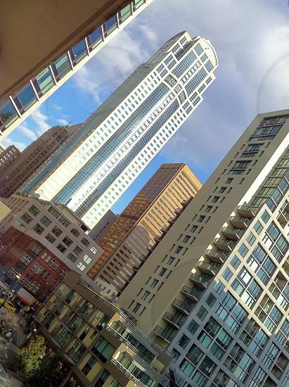 Downtown apartment view  photo