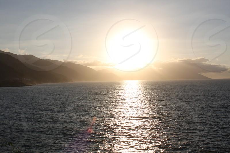 Puerto Vallarta Mexico. Sunset photo