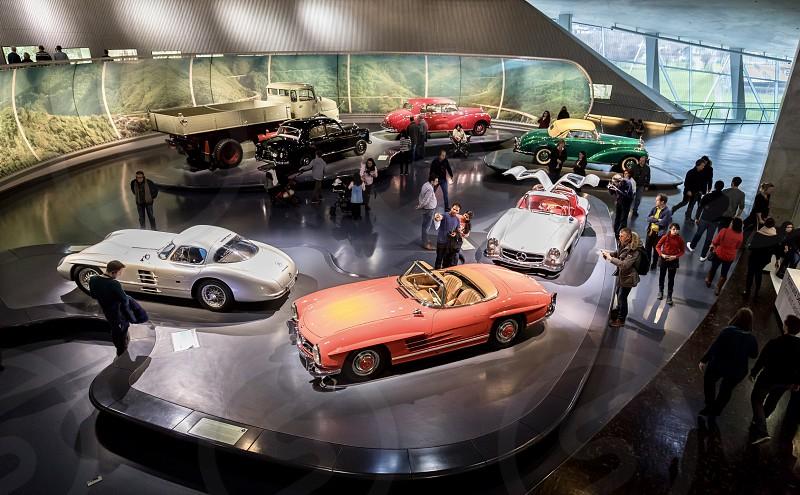 Mercedes Benz Museum Stuttgart Germany classic cars photo