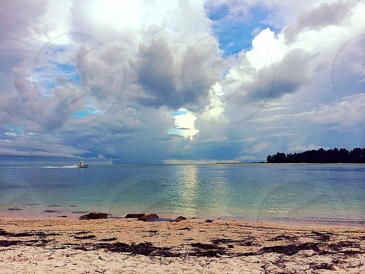 Siesta key FL. Private beach photo