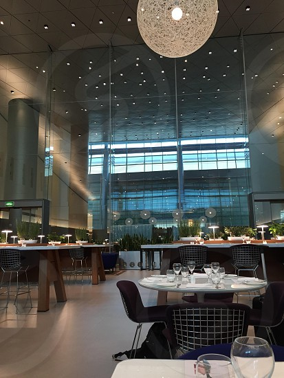 Doha restaurant in the airport photo
