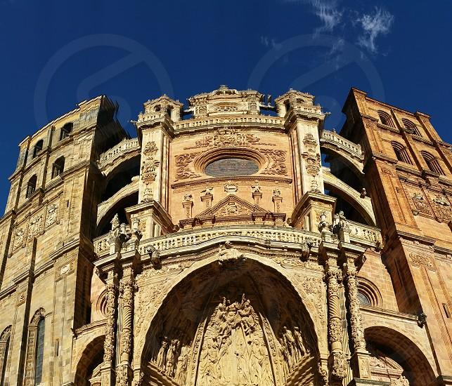 Church in AstorgaSpain photo