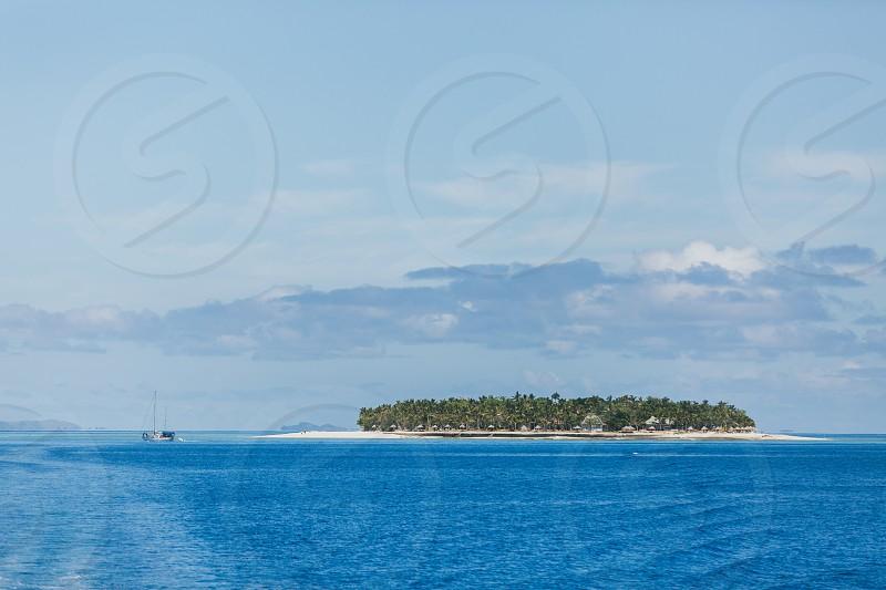Fiji mamanuca islands boat trip fiji islands  photo