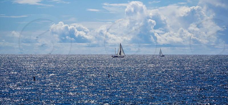 Sailing away  photo