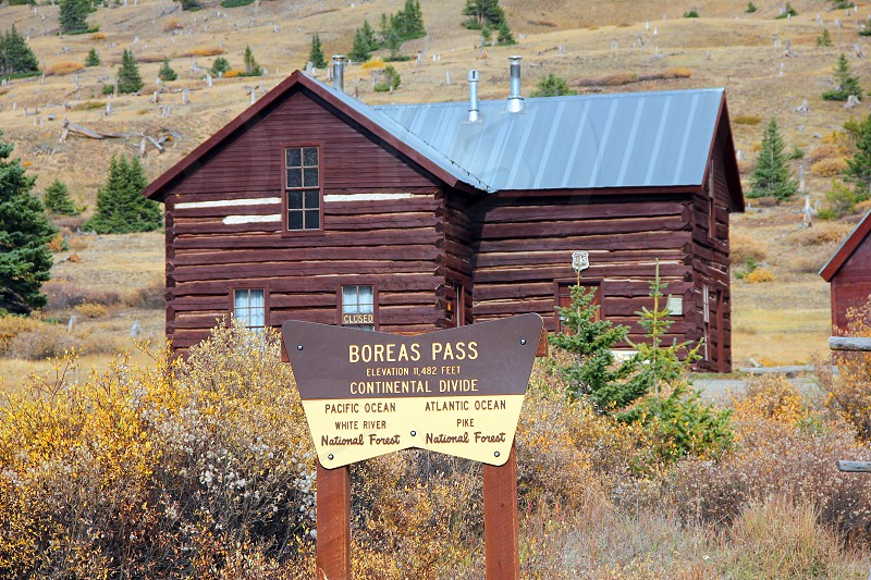 Colorado's Boreas Pass Road follows an old railroad line that ran from Breckenridge to the little town of Como in South Park. photo