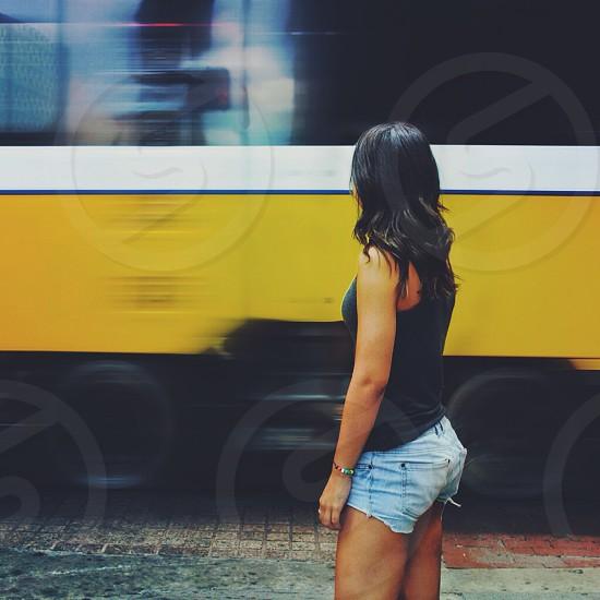 city light rail train photo