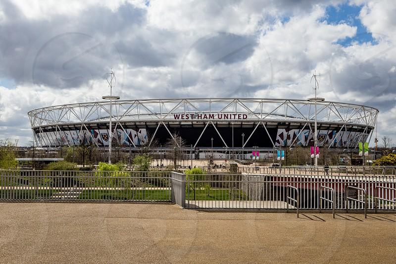 Athletic Stadium Olympic Park Stratford London photo