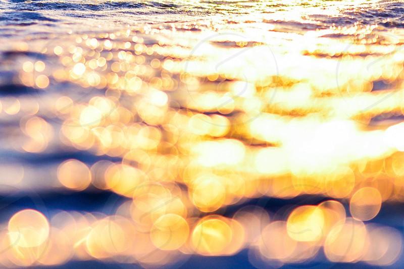 light on water photo