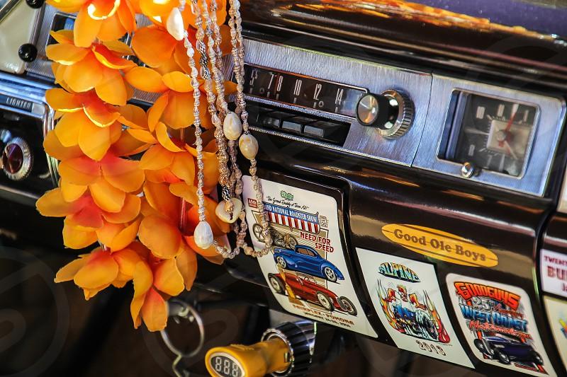California Classic Car dashboard photo