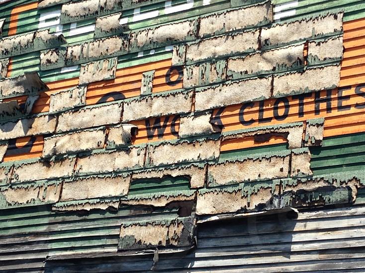 Architecture texture peeling facade exterior building old photo