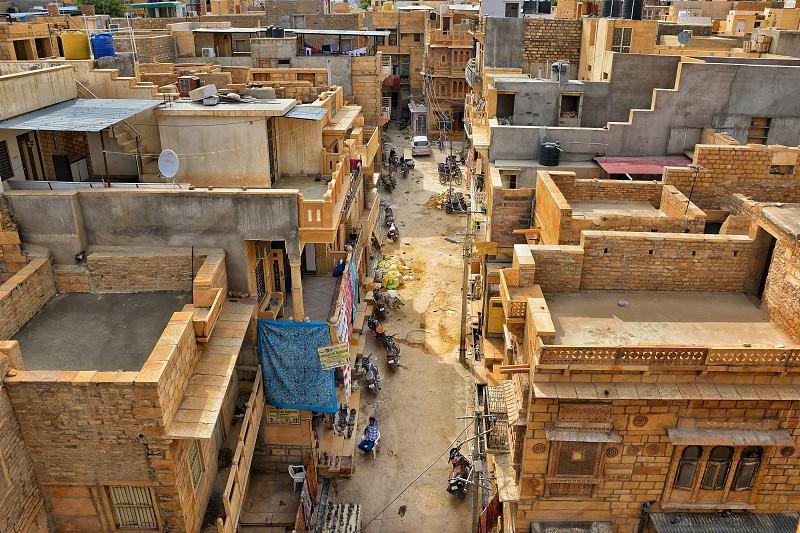 jaisalmer city view photo