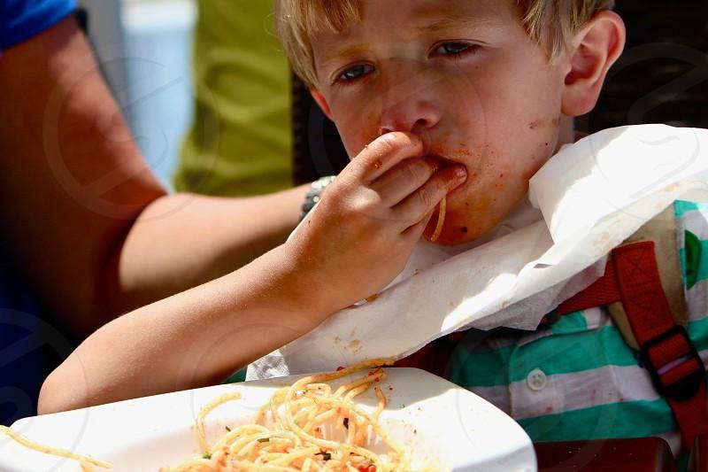 Pasta time photo