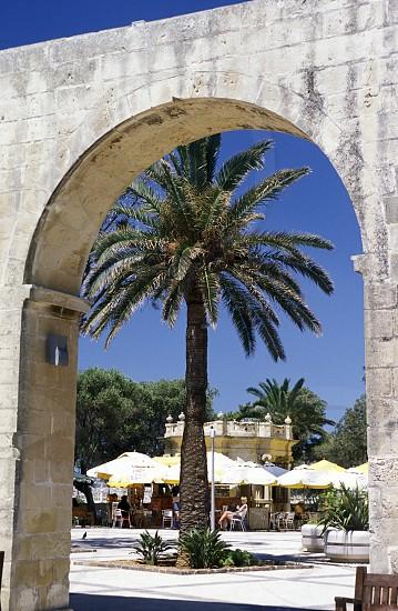 The Barrakka Garten in the old Town of Valletta on Malta in Europe. photo