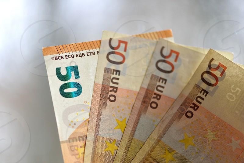 Euro money background. symbol finance success and rich photo