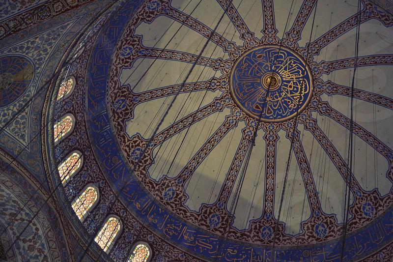Blue Mosque istanbul Turkey photo
