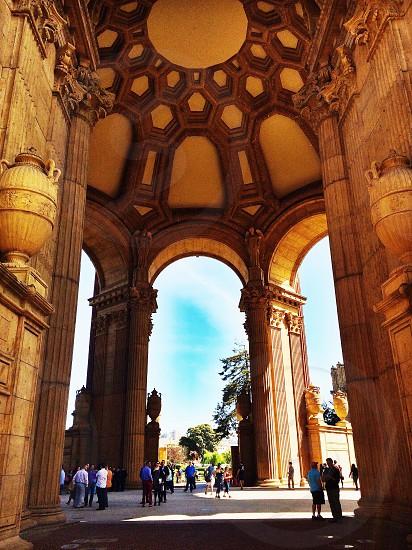 San Francisco Palace of Fine Arts Bay Area CA photo