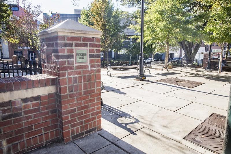 Pritchard Park downtown Asheville photo