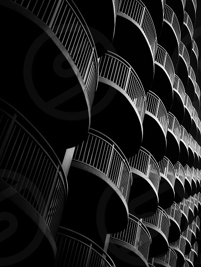Abstract black and white iPhone photography  photo