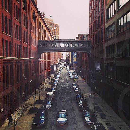 brown buildings photo