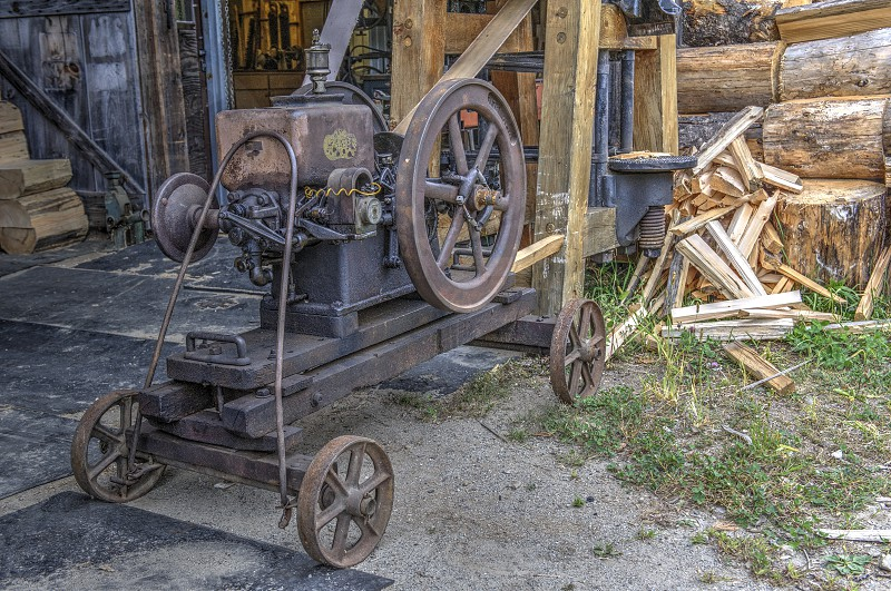 Antique Farm Equipment photo
