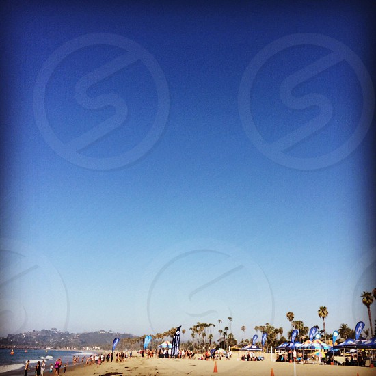 Santa Barbara cbva beach volleyball tournament  photo