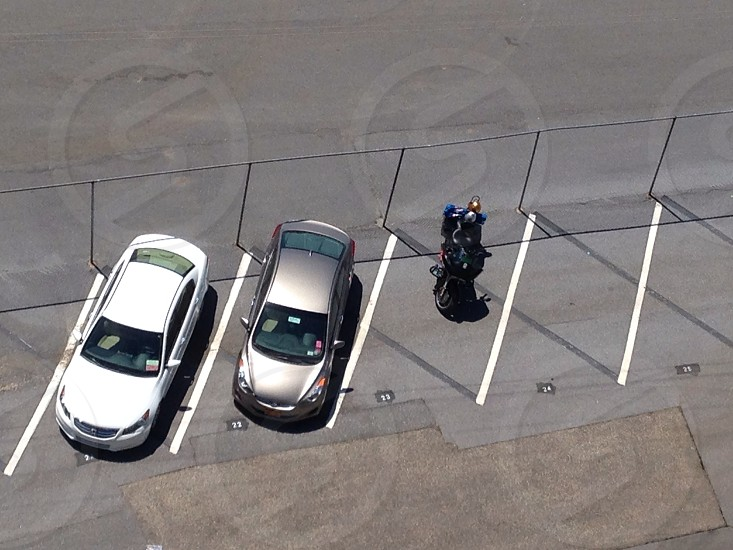 Aerial from the top row of Talladega Superspeedway.  photo