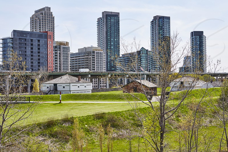Fort York and surrounding area  photo