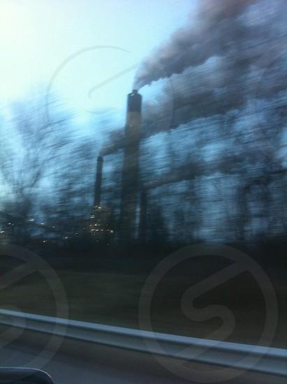 smokestacks in springfield photo