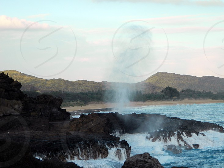 Blow Hole - Hawaii (Oahu) photo