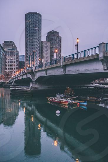 Boston and its beauty during sunrise photo