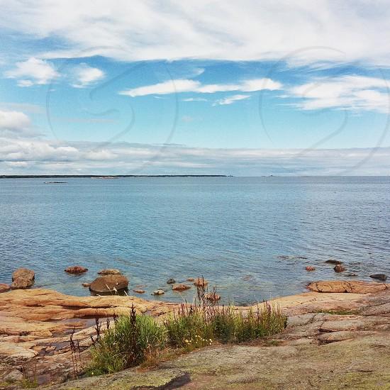 Sea ocean nature Sweden summer photo