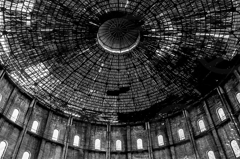 Round roof in decay photo