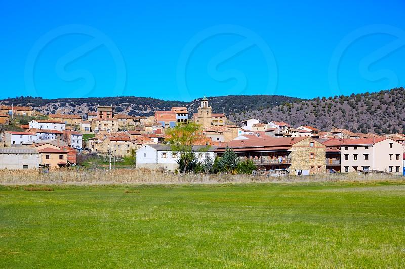 Royuela village Sierra de Albarracin in Teruel Spain photo