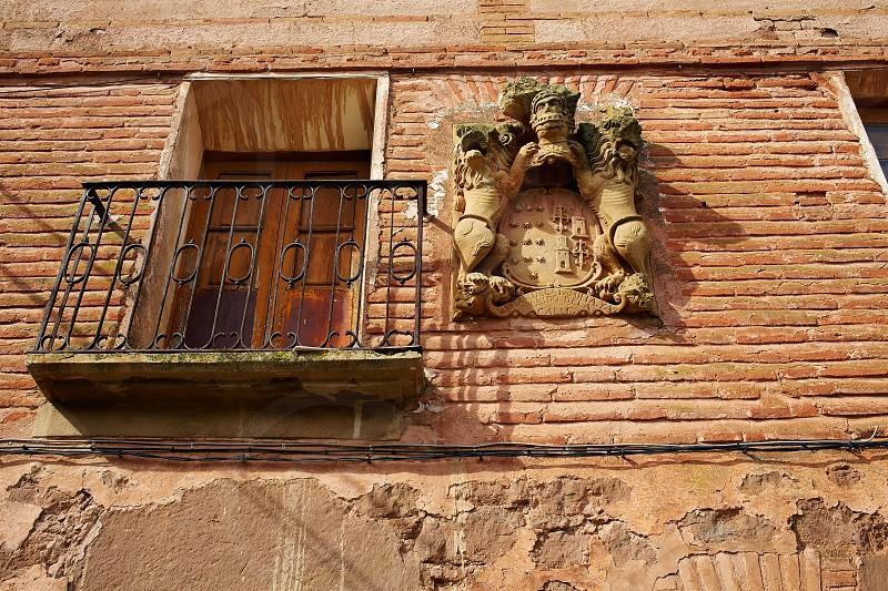 Azofra in Saint James Way at La Rioja of Spain photo