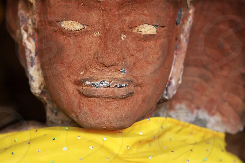 Buddha. Sisaket Temple Vientiane Laos photo