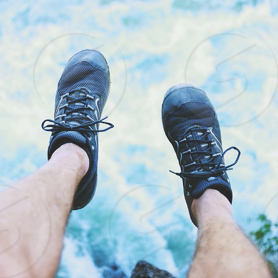 black columbia hiking shoes photo