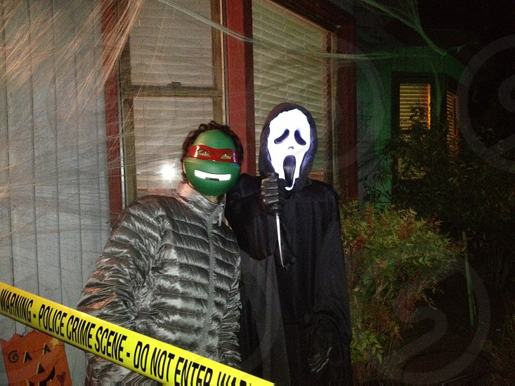 the scream costume photo