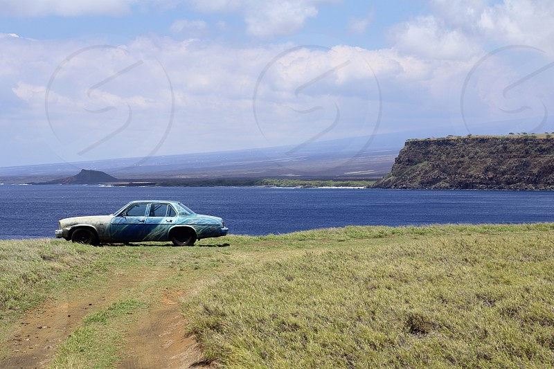 Ka Lae (South Point) - southernmost point of the Big Island of Hawaii and of the 50 United States  photo