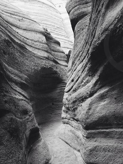 path through a cave  photo